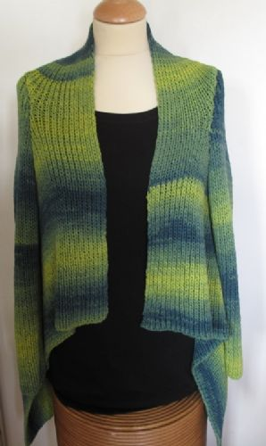 Waterfall cardigan - Pattern only